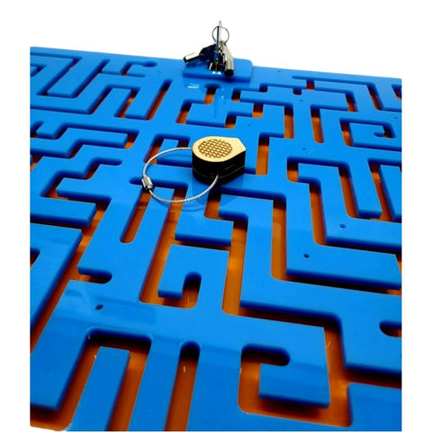 Key Mazes for Escape Rooms
