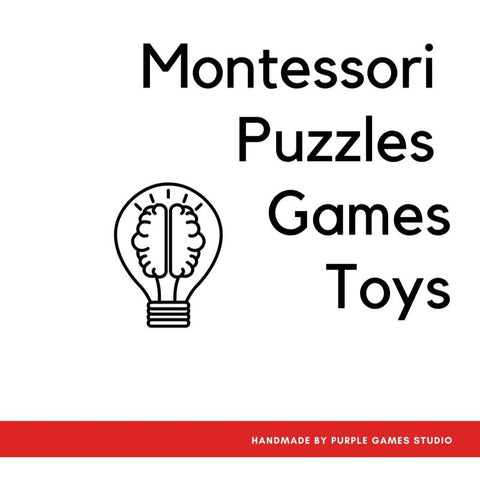 Montessori Puzzles Games And Toys For Kids