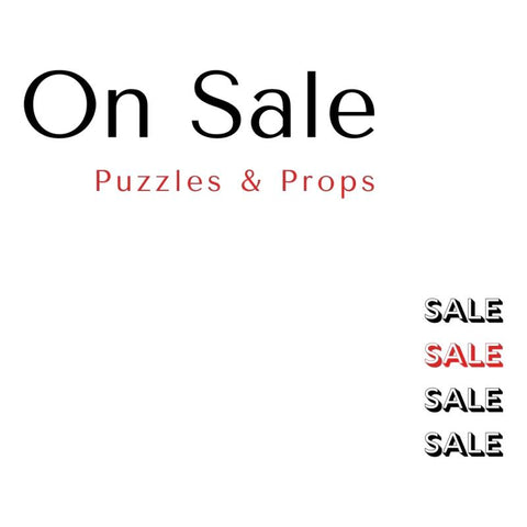 Puzzles and Props Currently on Sale