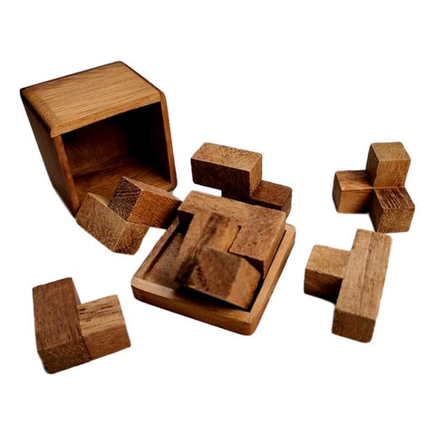 Wood Puzzles and Games for Kids