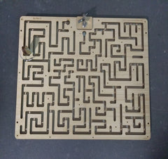 Key Maze for Escape Rooms Prop