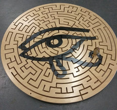 custom escape room key maze for egyptian themed rooms