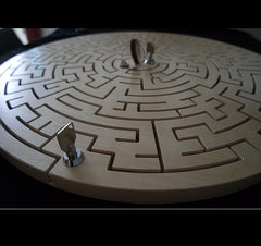 key maze puzzle for escape rooms