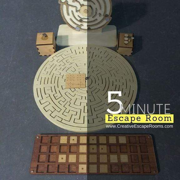Creative Escape Rooms 5 Minute Escape Room Puzzle Package