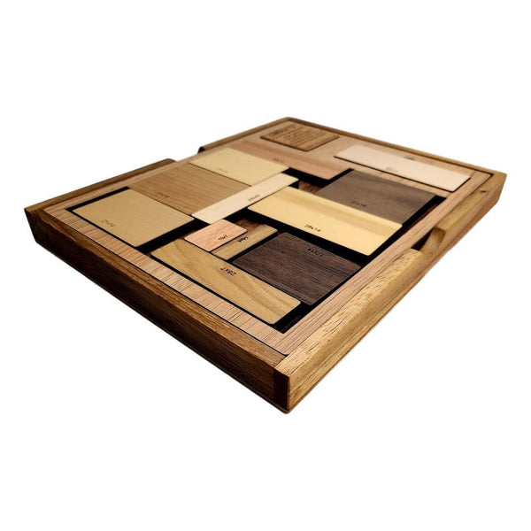 Creative Escape Rooms Calibron 12 Wood Puzzle - A Difficult Wooden Puzzle for Adults
