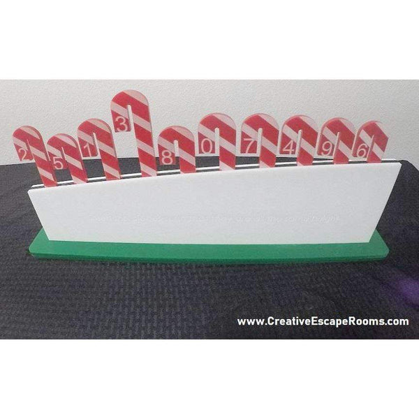 Creative Escape Rooms Candy Cane Christmas Escape Room Prop Package