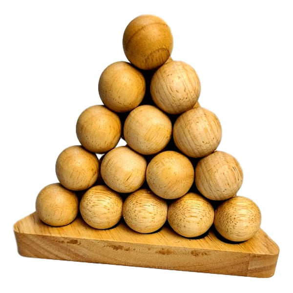 Creative Escape Rooms Cannonball Pyramid A Challenging Wood Brainteaser Puzzle