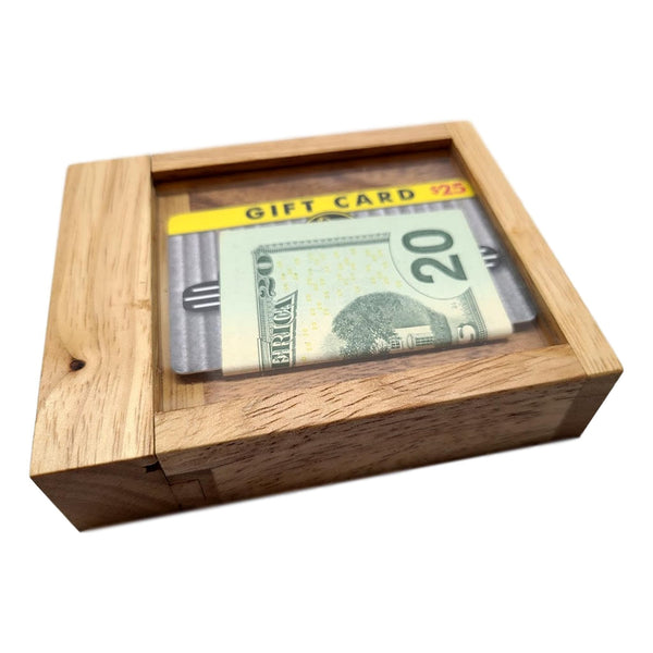 Creative Escape Rooms Cash Out A Puzzle Box That Holds Money and Gift Cards