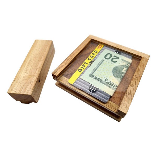 gift card puzzle box