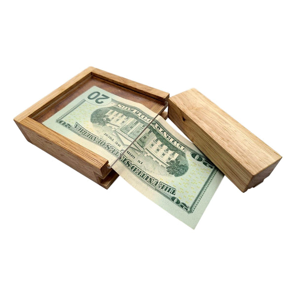 puzzle box for money and gift cards