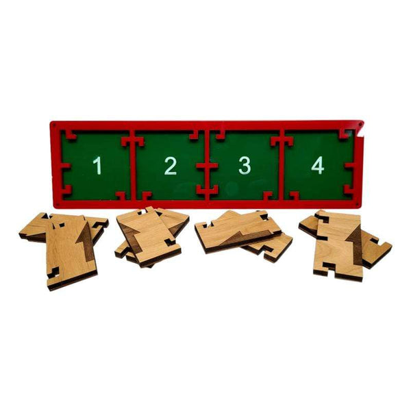 Creative Escape Rooms Christmas Themed Directional Lock Escape Room Puzzle