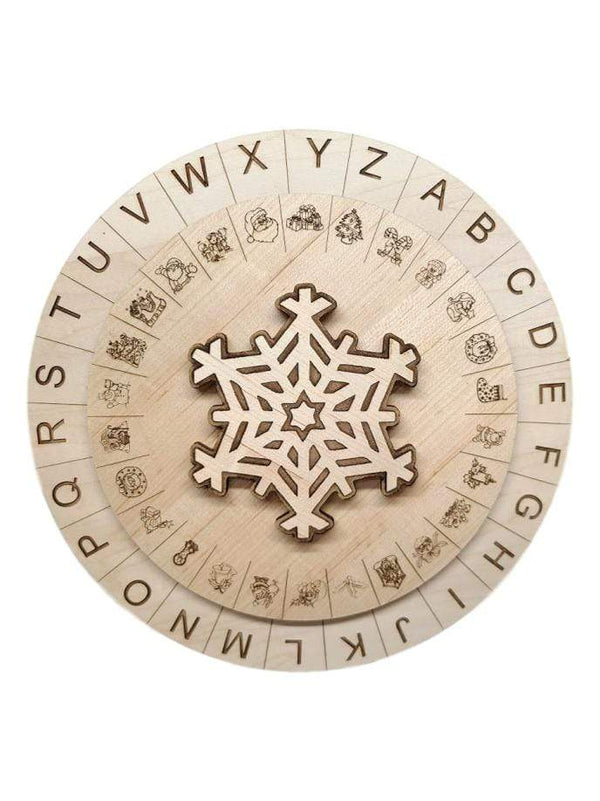 Creative Escape Rooms Christmas Themed Escape Room Cipher Wheel