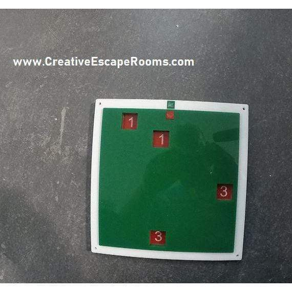 Creative Escape Rooms Christmas Themed Grilled Cipher For Escape Rooms