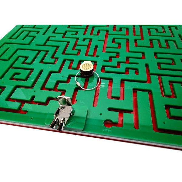 Creative Escape Rooms Christmas Themed Key Maze for Escape Rooms