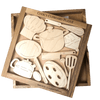 Creative Crafthouse Cooks Cupboard Wood Puzzle - Unique Gift Idea for Chefs and Cooks
