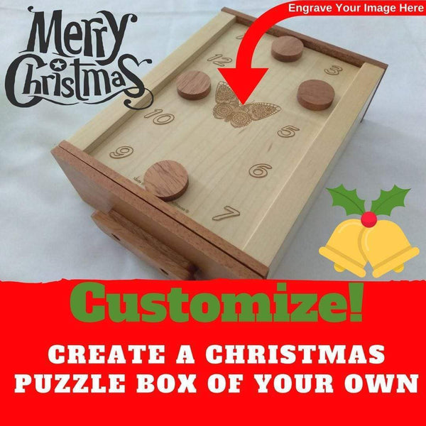 Creative Escape Rooms Create A Christmas Themed Magnetic Puzzle Box For Escape Rooms