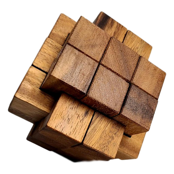 Creative Escape Rooms Dragon Burr 6x6x6 Puzzle Extremely Difficult Puzzle for Adults