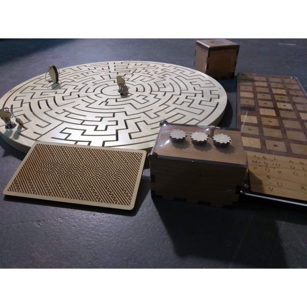 Creative Escape Rooms Gated Maze Puzzle Package for Escape Rooms