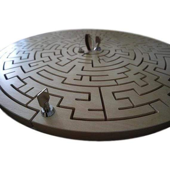 Creative Escape Rooms Gated Round Escape Room Key Maze - a Multi Step Key Maze Prop
