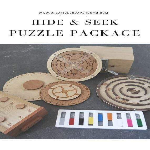Creative Escape Rooms Hide And Seek Puzzle Package