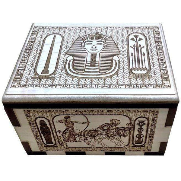 Creative Escape Rooms Hurricane Spin Box Prop For Escape Rooms With an Egyptian Theme