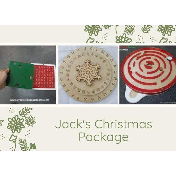 Creative Escape Rooms Jack's Christmas Puzzle Package for Escape Rooms