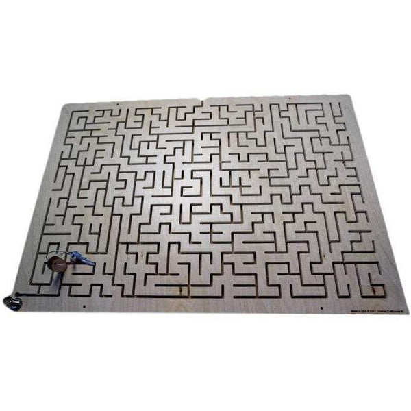 Creative Escape Rooms Key Maze III - Extra Large Key Maze for Escape Rooms