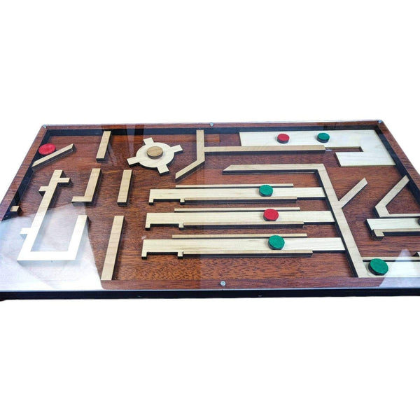 Creative Escape Rooms Magnet Maze - Christmas Themed - Escape Room Maze Puzzle and Prop