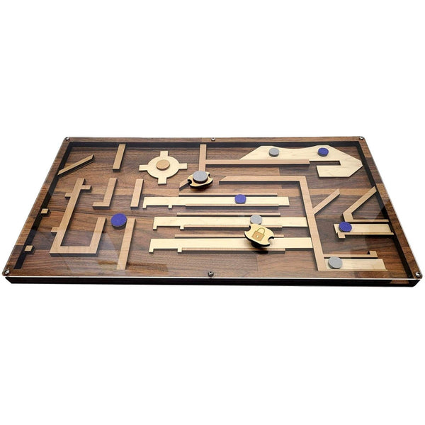 Creative Escape Rooms Magnet Maze ROYAL BLUE - Escape Room Maze Puzzle and Prop