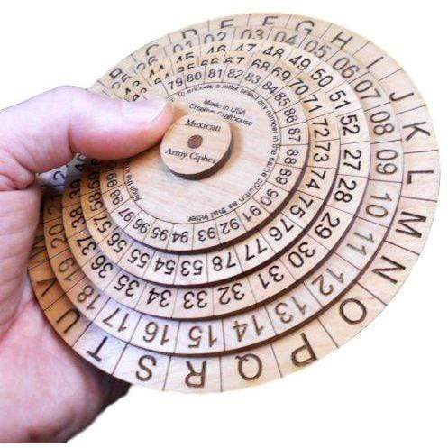 Creative Escape Rooms Mexican Army Cipher Wheel - Escape Room Game