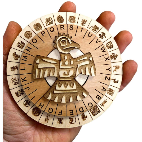 Creative Escape Rooms Mini Mayan Cipher for Escape Rooms Puzzle and Prop