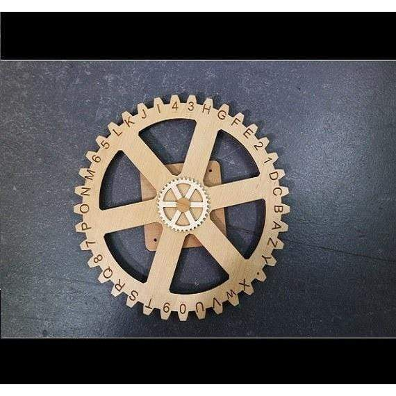 Creative Escape Rooms Mount for Jumbo Enigma Gears Escape Room Puzzle and Prop