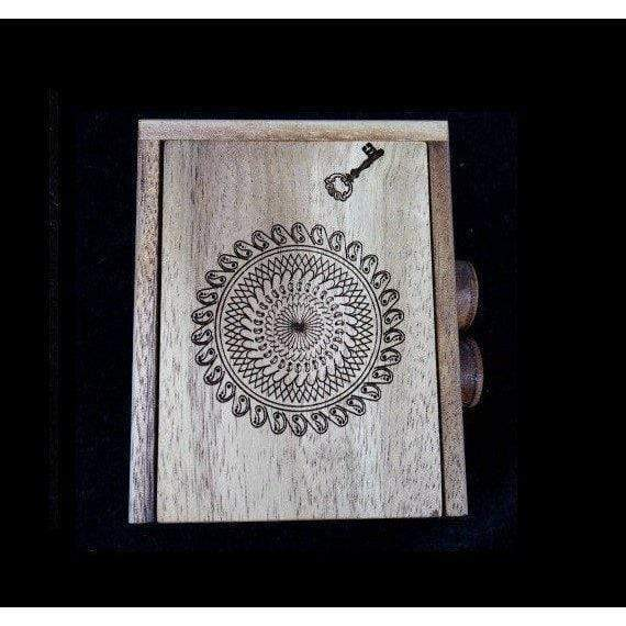 Creative Escape Rooms Overtime Puzzle Box - Mandala Model - Puzzle Box for Escape Rooms