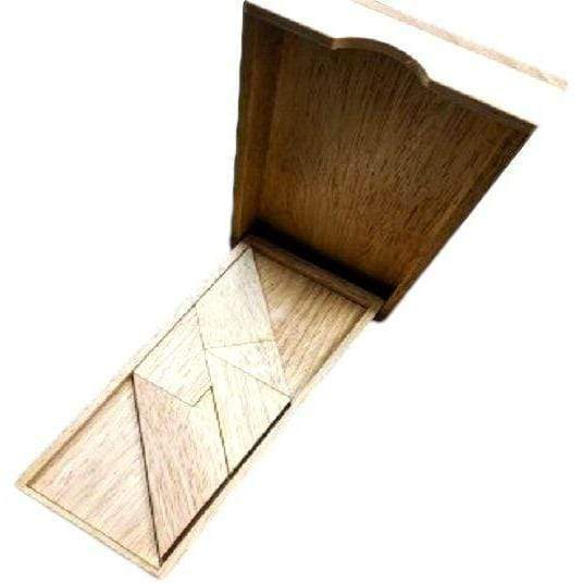 Creative Escape Rooms Rhombus 5 - Creative and Fun Wooden Puzzle