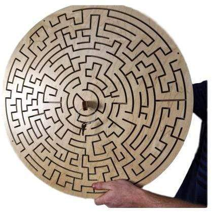 Creative Escape Rooms Round Key Maze for Escape Rooms - Escape Room Key Maze Puzzle