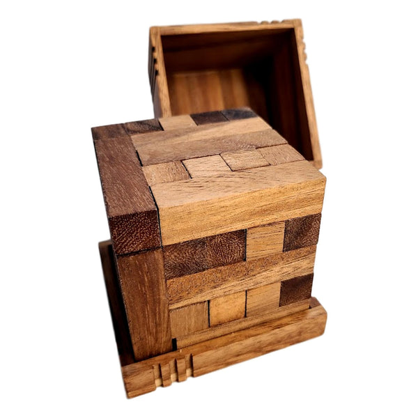 Creative Escape Rooms Shippers Dilemma Y Difficult Wood Puzzle