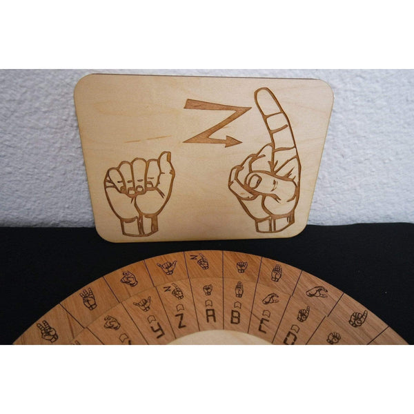 Creative Escape Rooms Sign Language Cipher Wheel And Key Combo- Escape Room Puzzle and Prop