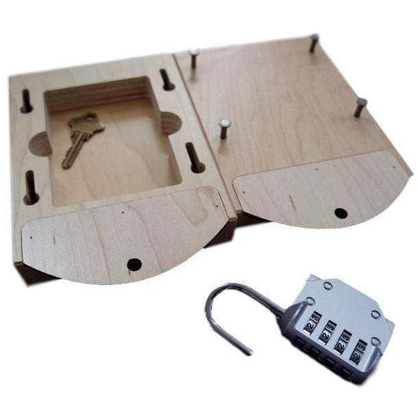 Creative Escape Rooms Slide Box for Escape Rooms Works With Most Every Popular Lock