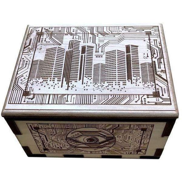 Creative Escape Rooms Techno Hurricane Spin Box Extra Strong Puzzle Box Prop For Escape Rooms