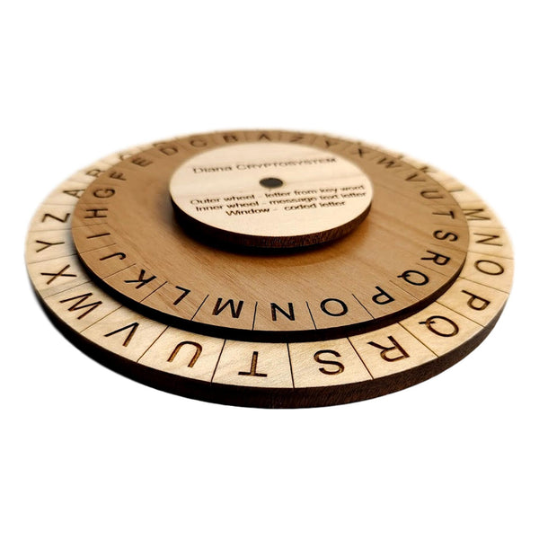 Creative Escape Rooms The Diana Cryptosystem - Escape Room Cipher Wheel