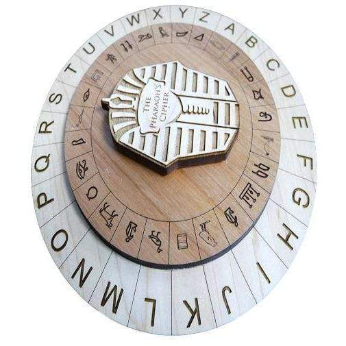 Creative Escape Rooms The Pharaoh's Cipher - Escape Room Puzzle and Prop