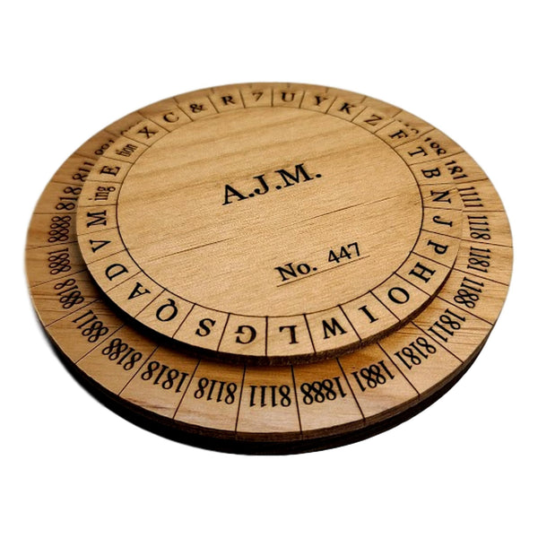 Creative Escape Rooms Union Army Cipher Wheel - Escape Room Puzzle