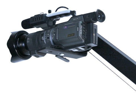 Single arm CobraCranes and BackPackers support a wide range of professional, handheld, broadcast cameras