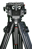 CobraCrane CC501 3 stage aluminum tripod with 501 fluid head