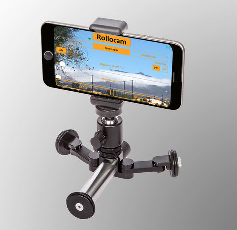 Rollocam H-2 is the worlds best intelligent portable face tracking motorized tripod