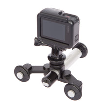 Load image into Gallery viewer, Rollocam H-2 The world's most intelligent, portable tripod for SmartPhones, DSLRs, MirrorLess and Adventure Cameras