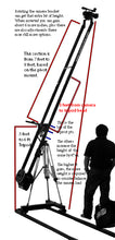 Load image into Gallery viewer, CobraCrane 2HD 10 Foot Dual Arm Heavy Duty Camera Jib w pan head