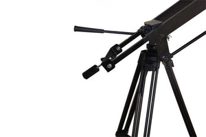 8 foot Dual arm telescoping jib w/ Cable Operated Panning 3ft - 8 ft.