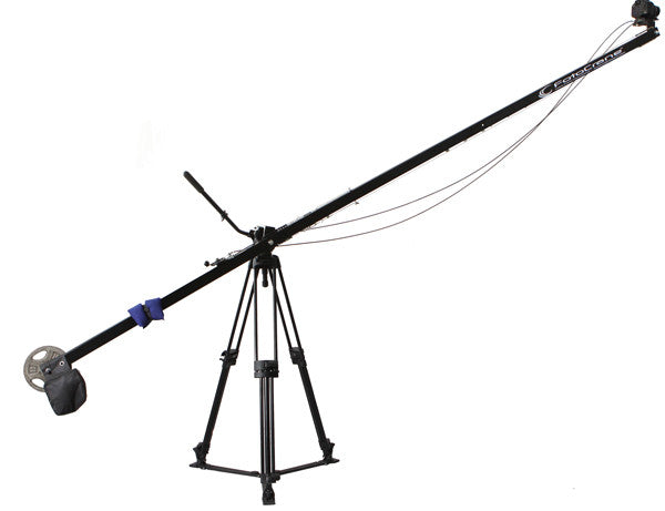 12 foot Single arm Jib with Remote Pan Tilt & BackPack