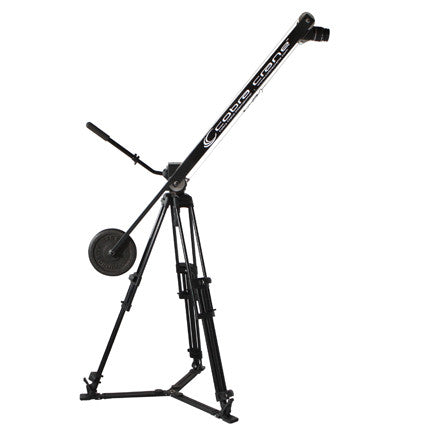 CobraCrane BackPackerX |  8 foot Camera Jib w/ pan head
